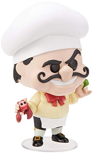 Funko- Pop Figura de Vinilo: Disney: Little Mermaid-Chef Louis Coleccionable, Multicolor (40104)