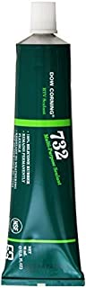 Dow Corning 3138356 732 Clear Multi-Purpose Sealant, -60 to 180 Degree C, 90 mL by Dow Corning
