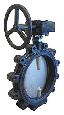 Upml333e 12 Butterfly Valve,Lug,12 In.,Ductile Iron from rianiq07