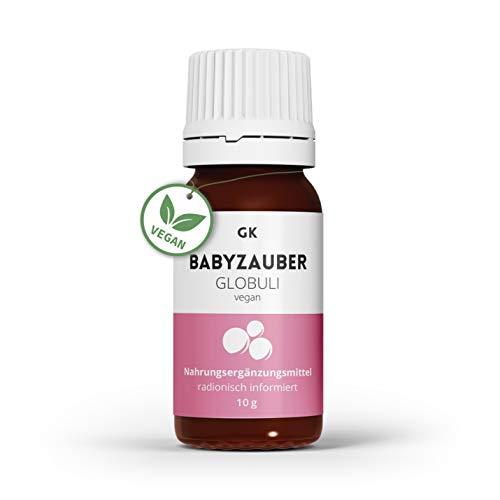 GK Babyzauber Kinderwunsch Globuli (10g) - radionisch informiertes Globuli bei Babytraum - homöopathisches Komplexmittel für Frauen mit Kinderwunsch