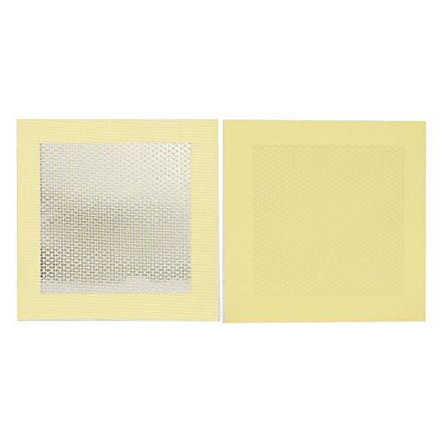 5 piezas de reparación de pared parche reforzado con fibra de vidrio Panel de pared Resuelto daños al techo agujero pared seca 4 x 4 in 6 x 6 in 8 x 8 in