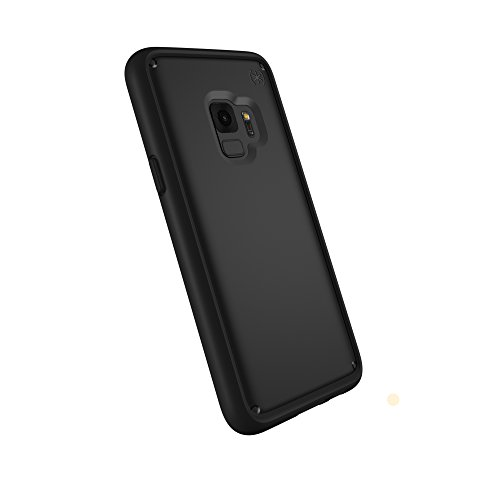 Speck Products Compatible Phone Case for Samsung Galaxy S9, Presidio Ultra Case, Black/Black/Black