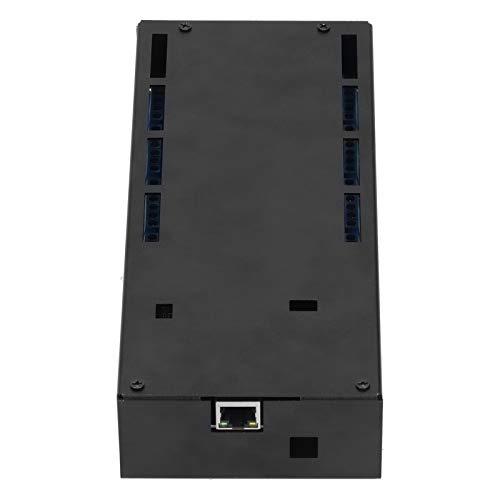 Caja de relé, puerto RJ45 de servidor, amplificador de potencia de relé de 16 canales, carcasa de metal de aleación de aluminio, chasis de accesorios de computadora