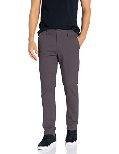 Southpole Men's Flex Stretch Basic Long Chino Pants, Dark Slate (New), 36X30