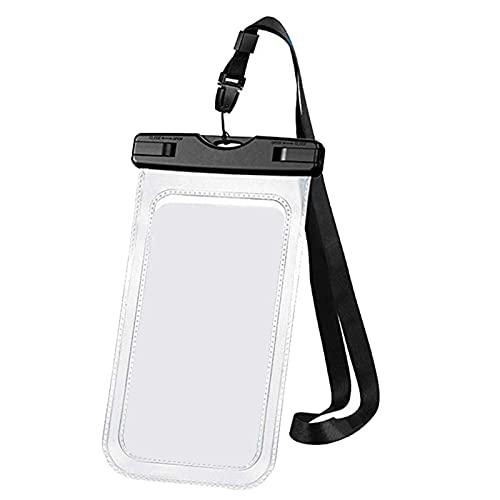 Freljorder Estuche Impermeable para teléfono Celular 1 Paquete IPX8 Estuche Impermeable para teléfono Celular Compatible con Bolsa Seca, FNAM155