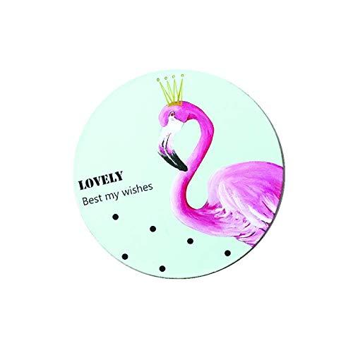 Untersetzerfür Getränke Lustige Kaffee-Tee-Untersetzer Natur Geeignet für Home Restaurant Büro 6er-Set Flamingo