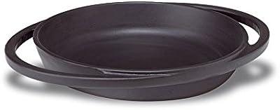 Pentole Agnelli Round Cast Iron Mini Pan, Diameter 20 cm, Matt Black