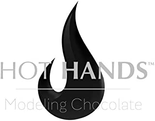 Modeling Chocolate, Premium Gourmet Modeling Chocolate in BLACK by Hot Hands Modeling Chocolate for Cookies and Cakes 2 POUNDS VALUE PACK