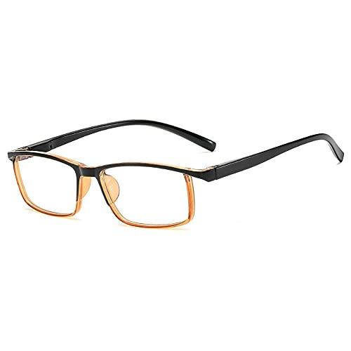 Gafas de sol fotocromáticas con bloqueo de luz azul retro UV400 para hombres y mujeres anti luz azul radiación lente de computadora gafas de juego, Black Tea, Talla única