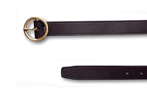 Brussel Women's Stylish belt for Jeans and Dress( Brown, Upto 32) 2
