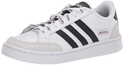 adidas Men's Grand Court SE Tennis Shoe, White/Black/Legacy Red, 12