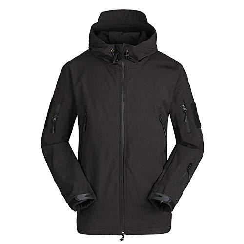 Deporte al aire libre impermeable táctico Softshell hombres chaqueta abrigo ejército camuflaje caza ropa militar chaqueta