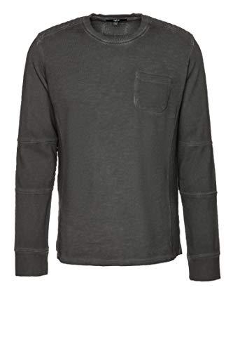 Tigha Herren Sweatshirt Chad Grau L