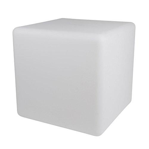 Expert Line Lampe Cube Lumineux, Blanc, 40 x 40 x 40 cm