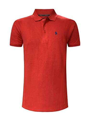 S & C heren poloshirt korte mouwen regular fit