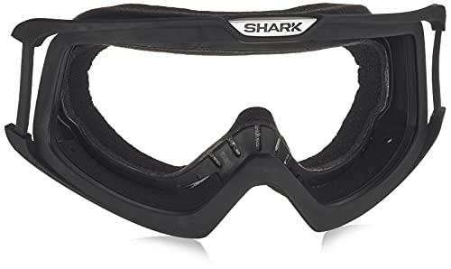 Y'S GEAR SHARK(シャーク) 【正規輸入品】 バイクヘルメットパーツ ダラク(DRAK) ゴーグル フレーム ブラッ...