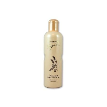 Komenuka Bijin Moisturizing Hair Shampoo with Natural Rice Bran - 11 Fl Oz