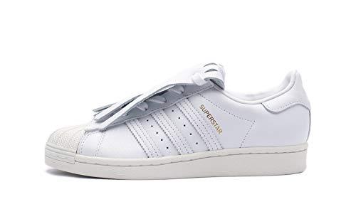 adidas Superstar Fringe W - Zapatillas de deporte, color blanco, color Blanco, talla 40 EU