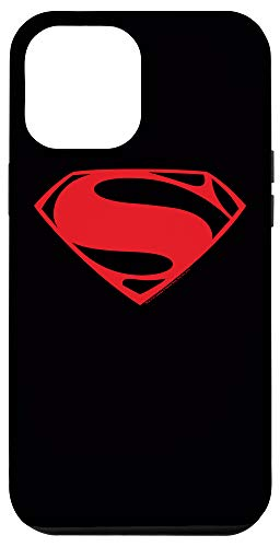 iPhone 12 Pro Max Man of Steel Superman Red Glyph Case