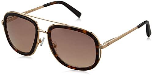 Tommy Hilfiger Mirrored Square Men's Sunglasses - (Tommy Hilfiger 9009P Hav/Gld C5 57 S|54|Gold Color Lens)