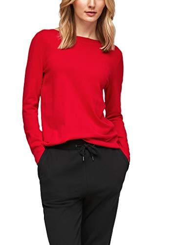 s.Oliver Damen 120.12.011.17.170.2053900 Pullover, Rot(3132), 38