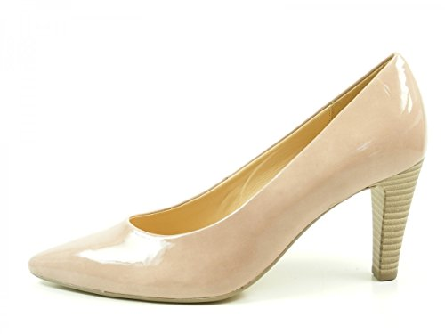 Gabor 51-280 Schuhe Damen Lack Pumps Weite F, Schuhgröße:38.5 EU, Farbe:Rosa