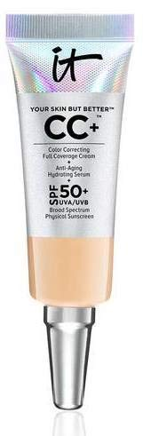 it Cosmetics Your Skin but better CC+ Color Correcting Full Coverage Cream Medium 0.135 fl oz Mini size