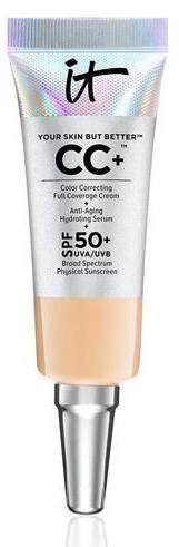 it Cosmetics Your Skin but better CC+ Color Correcting Full Coverage Cream Medium 0.135 fl oz Mini size