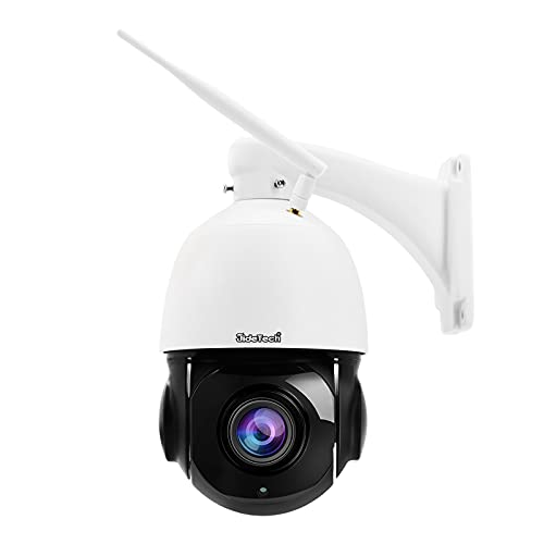JideTech 5MP PTZ WiFi Security Camera Outdoor, 20X...
