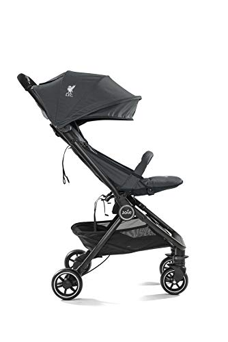 Joie Pact Flex LFC Pushchair/Stroller, Black Liverbird Joie Suitable from birth with flat reclining seat Lightweight chassis, with easy and compact fold Pairs perfectly with Joie Gemm, i-Gemm, i-Snug and i-Level car seats 3