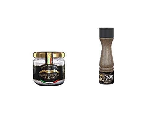La Rustichella Feines Salz- und Trüffelpulver Set, 400 g