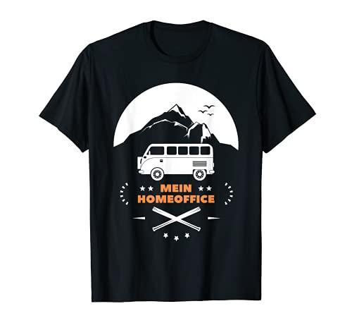 Wohnwagen Wohnmobil Reisemobil Camper Mein Homeoffice T-Shirt
