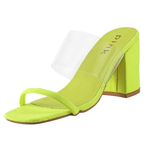 KERULA Sandalen Damen Absatz, High Heels Stil GroßE GrößE Pellucida Hausschuhe Pumps Damenschuhe Slipper Shoes Trekkingsandalen Sandaletten Schuhe