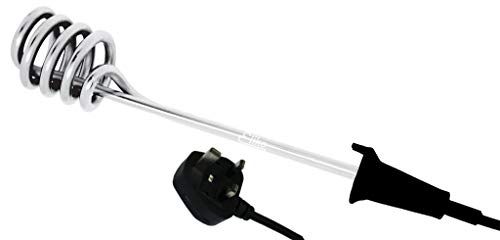Electric Kettle Travel Immersion Heater - Portable Electric Water Heater...