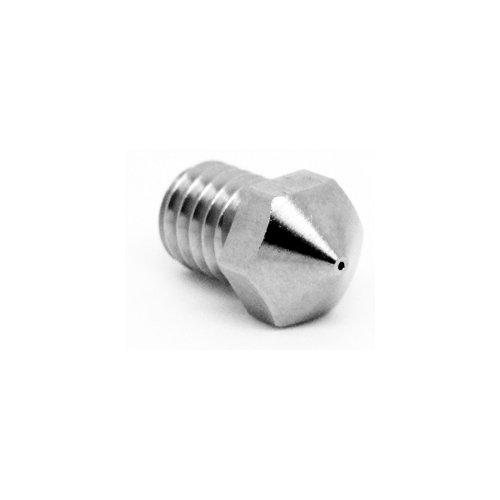 Genuine Micro Swiss Plated Wear Resistant nozzle for MP Select Mini/ProFab Mini/Malyan M200 .4mm (M2584-04)