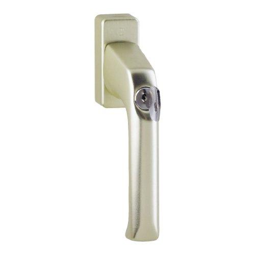 HOPPE Fenstergriff Dreh/Kipp abschließbar 'London' Aluminium Neusilber 013S/U34 - 8004673