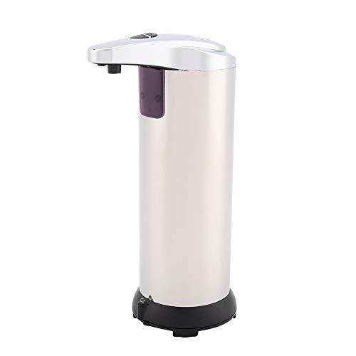 Automatische Zeepdispenser, Dubbele Schakelaar Touchless Automatische Roestvrijstalen Zeep Vloeibare Sanitizer Dispenser Badkamer