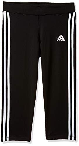 adidas Mädchen Gear Up 3/4 Tights, Black/White, 128