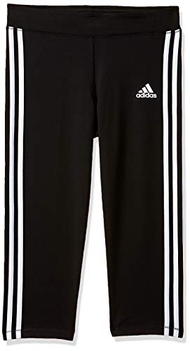 adidas Mädchen Gear Up 3/4 Tights, Black/White, 128