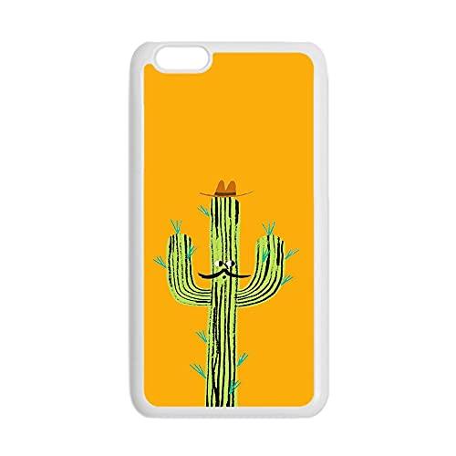 para Los Hombres Tener Cactus Ligero Compatible para iPhone 7 Plus 8 Plus Cáscaras Duras del Teléfono del Abs