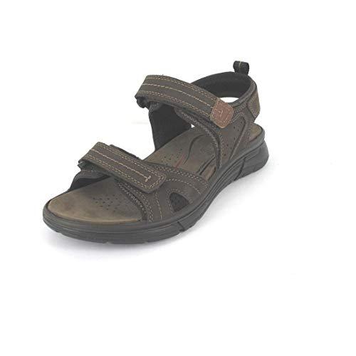 Imac Sandale Größe 45, Farbe: MARR.Scuro/beige