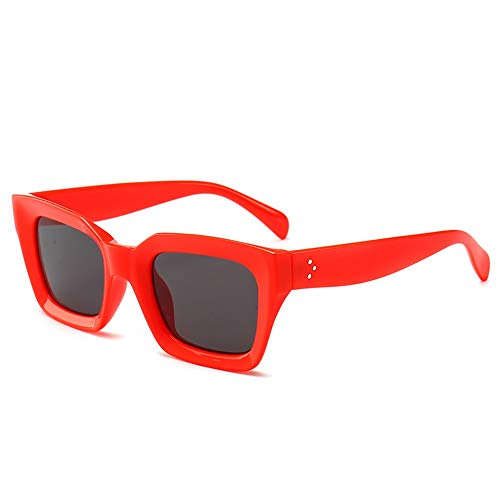 EVFIT Gafas de Sol Disparo Calidad De Las Señoras Gafas De Sol De La Calle Alta Protección Solar A Prueba De Viento Retro Gafas De Sol Ciclismo de Golf de conducción Escalada Pesca