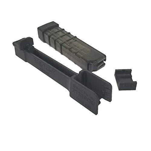 RAEIND Mag Speed Loader for Stribog Line Grand Power SP9A1-A2 9mm Magazine Loader Unloader Tool (9mm, 10 Rounds)