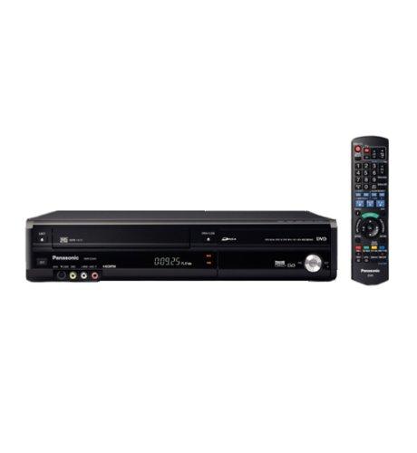 Panasonic DMR-EZ48, registratore DVD con sintoizzatore digitale, VHS e VCR.