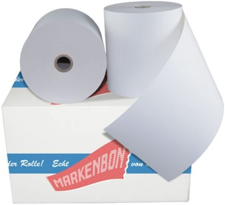 30 x ThermGoldllen Thermopapier rotoli di carta carta carta termica 80 mm 80 80 original markenbon Thermopapier Bonrollen thermo [80 Meter] Thermo 80mmx80lfm (30 Stück) Kassenrollen 80x80 B01I3MKFKG | Zuverlässige Leistung  c64bce
