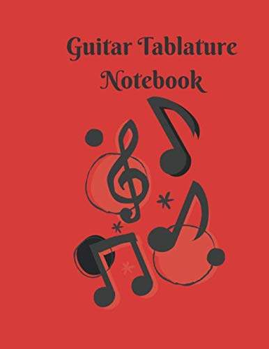 Guitar Tablature Notebook with chord fingering charts: 118 Pages: 118Pages, printed on both sides.White Paper, 8.5 x 11In.
