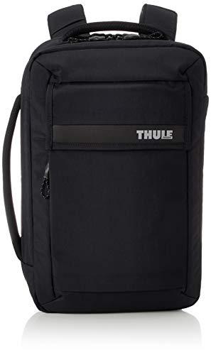 Thule Paramount Borsa per computer portatile con scomparto per tablet convertibile in zaino, Nero