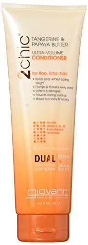 GIOVANNI - 2chic Ultra Volume Tangerine & Papaya Conditioner - 8.5 fl. oz. (250 ml)