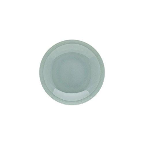 DEGRENNE - Modulo Color lot de 6 assiettes creuse calotte 20 cm - porcelaine - Gris perle