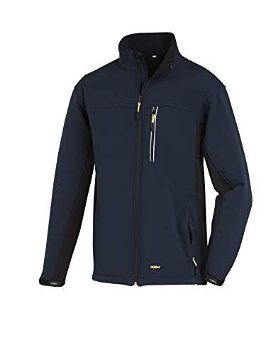 Texxor 4142 - Softshell chaqueta skagen trabajo microfleece transpirable, m, azul